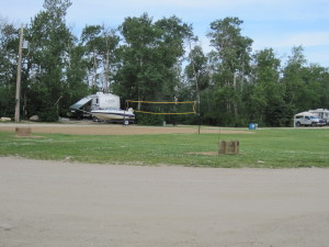 Horseshoes & Volleyball Court