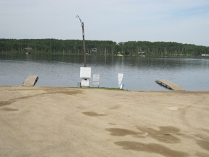 St. Brieux Lake & the Park's two boat Launches