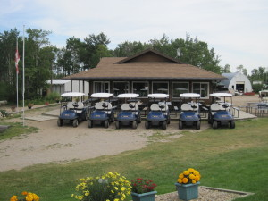 Clubhouse & Power Carts